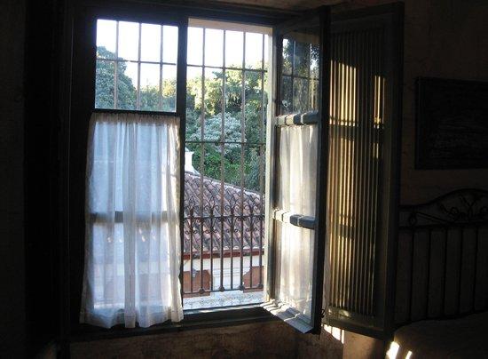 La Casona de Antigua: Vista desde habitación No. 11