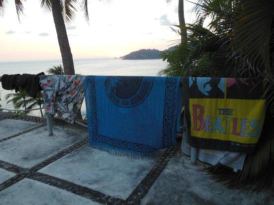 Catalina Beach Resort: Room 35 Patio View
