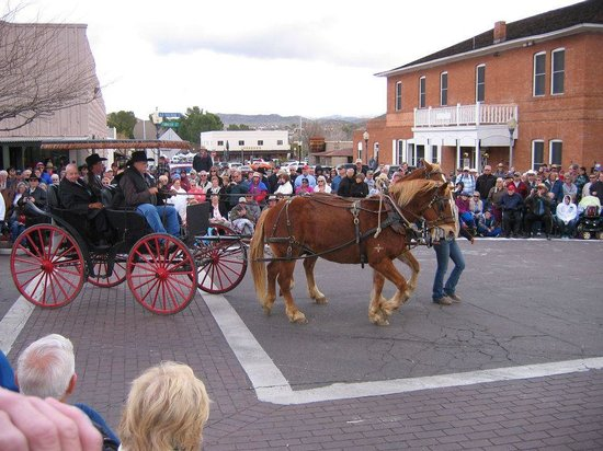 Lazy D Rockin P Ranch Carriage Rides: They also rent wagons for Parade Event