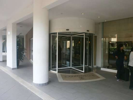 Hotel Capannelle: Ingresso
