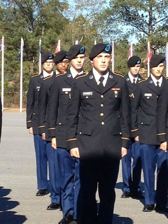 Holiday Inn Express Columbus at Northlake: Turning Blue Ceremony Ft. Benning