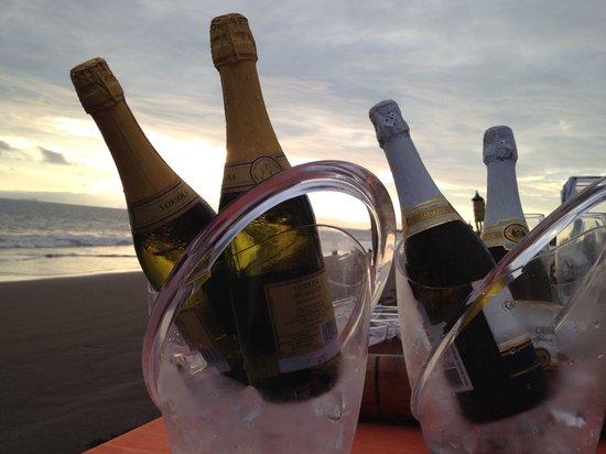 Hotel Praiamar: Champagne time