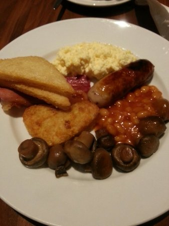 Holiday Inn Birmingham City Centre : Breakfast