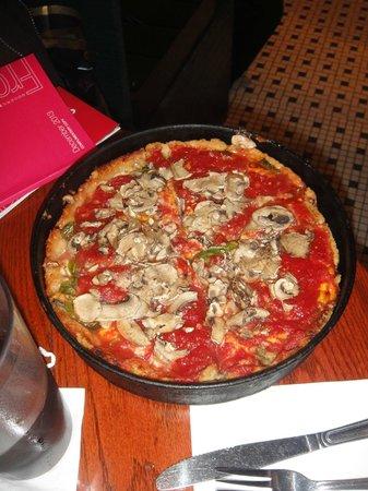 Pizzaria Uno Chicago Bar & Grill: De dar agua na boca