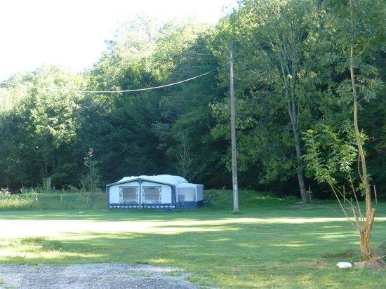 Moulin Ecurades : camping gedeelte