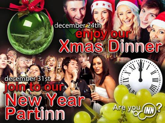 Granada Inn Backpackers: Xmas dINNer & New Year partINN
