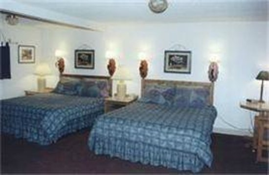 Knight's Extended Stay: Typical two room unit
