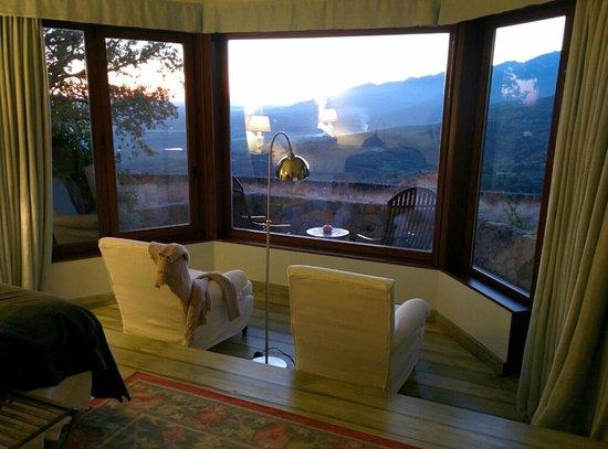 Hotel Nabia : vistas habitacion