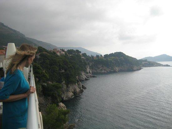 Hotel Bellevue Dubrovnik: balcony