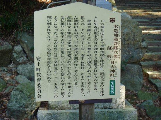 Hie Shrine : 謂われ