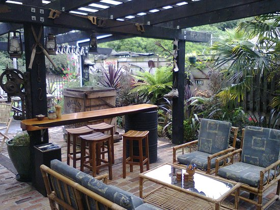 Kristy's Cafe : Outdoor dining