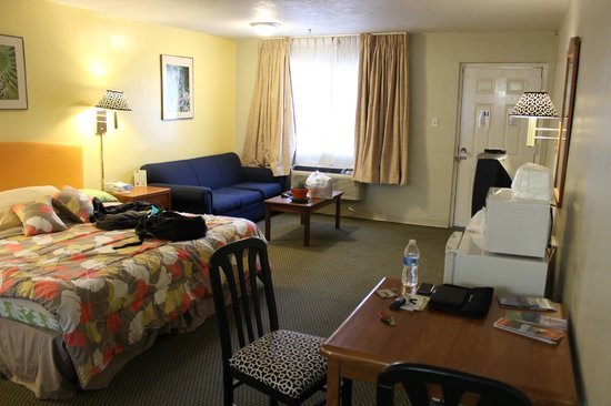 The Big Chile Inn: View of the room