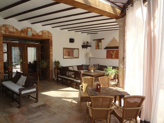 Hotel Rural Casa Grande Almagro: Common area by pool
