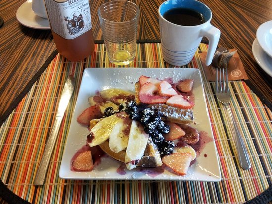 Queen Anne Bed & Breakfast: le petit déjeuner / the breakfast