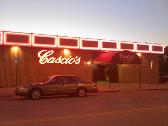 Cascio S Steak House Cascios In Evening