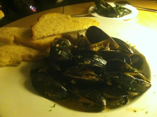 The Inn at Weathersfield : Mussels