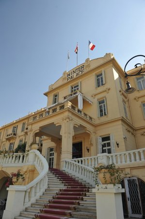 Sofitel Winter Palace Luxor : Front view of Winter palace