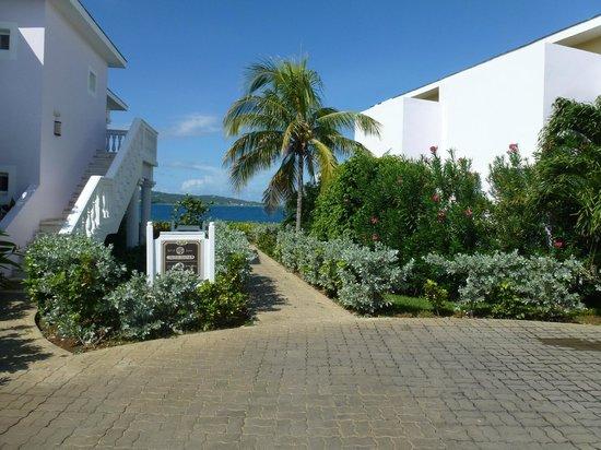 Grand Palladium Lady Hamilton Resort & Spa: path to our room