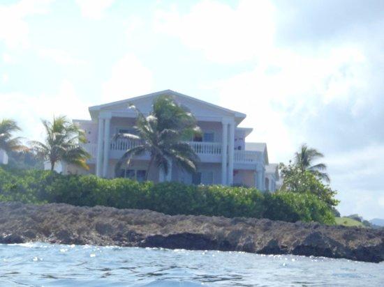 Grand Palladium Lady Hamilton Resort & Spa: room from water while snorkeling