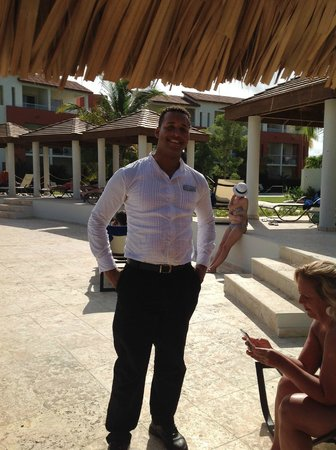Now Larimar Punta Cana : Jonathan from Capers Restaurant