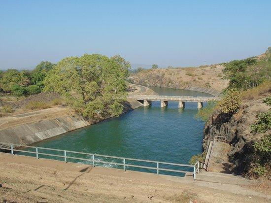 Jabalpur, الهند: Dam exit