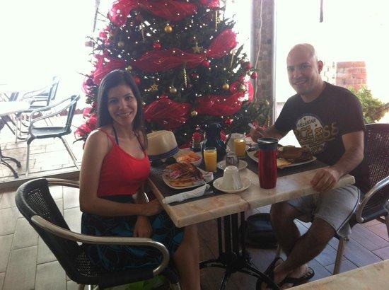The Mill Resort & Suites Aruba: Nuestro super desayuno