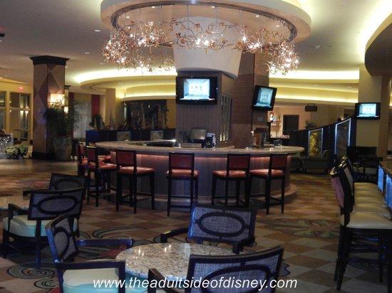 Hilton Orlando Bonnet Creek: lobby lounge
