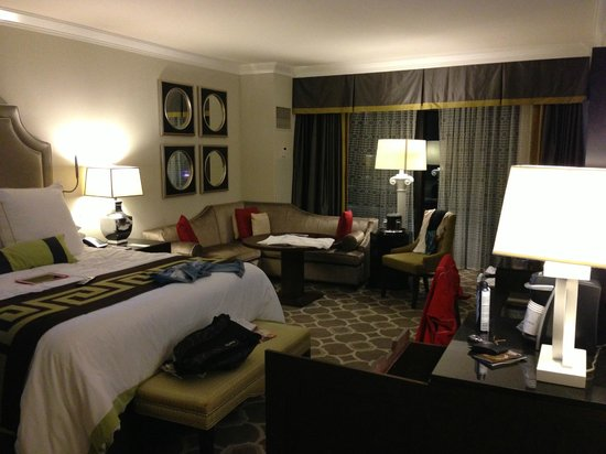 Caesars Palace: our room