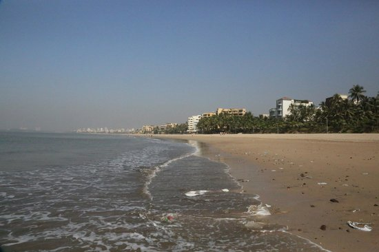 Sun-n-Sand Hotel, Mumbai: Beach area