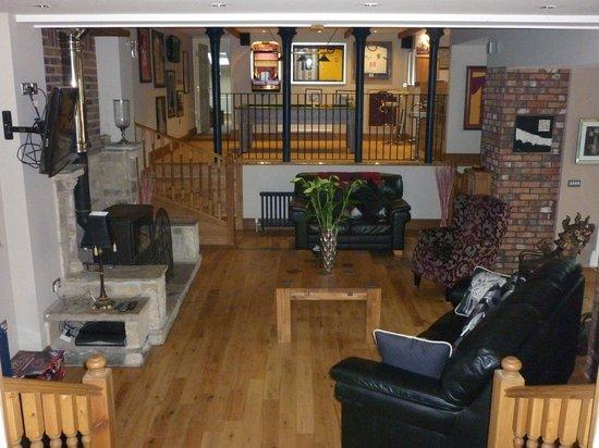 Hill Top Farm, Askrigg: Living room / Bar