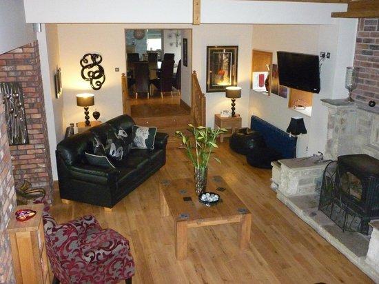 Hill Top Farm, Askrigg: Main living room