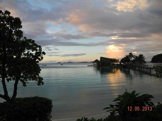 Likuliku Lagoon Resort: A Typical Evening View