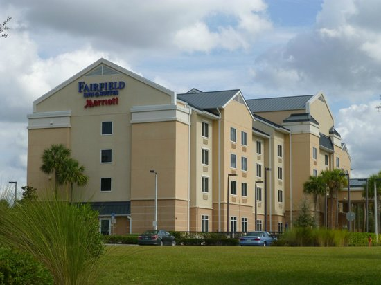 Fairfield Inn & Suites by Marriott Naples : Hotel!