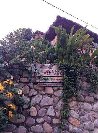 Casa La Ventana: At the bottom of the stairs to la Casa