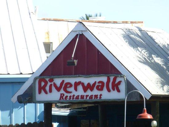 Riverwalk : Restaurant entrance.