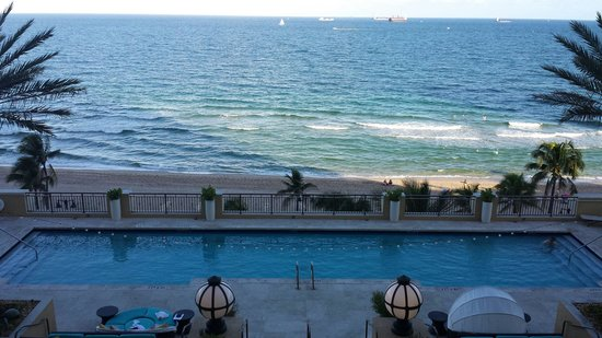 The Atlantic Hotel & Spa: View from oceanfront room