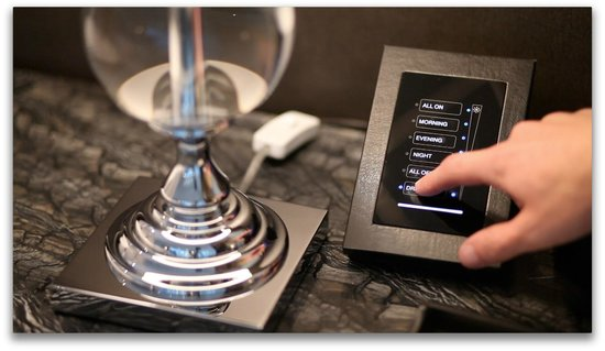 Trump International Hotel & Tower Toronto: Bedside Touch Panel Controls for Lighting and Windows