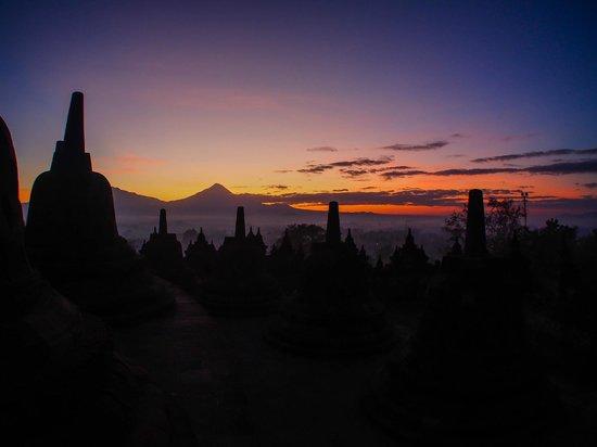 Temple de Borobudur : Sunrise