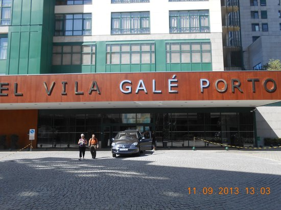 Vila Galé Porto: Frente do hotel