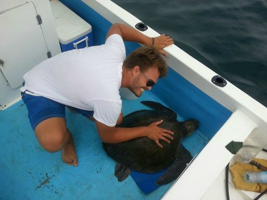 Extreme Costa Rica - Private Tours : Guide, Matthew with his new friend!