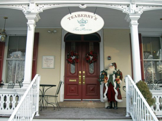 Teaberry's Tea Room : Entrance,