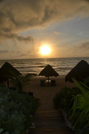 Encantada Tulum: Stunning beach views!