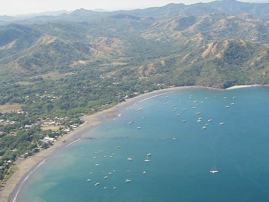 Extreme Costa Rica - Private Tours: Sky view of Coco Beach