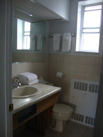 Econo Lodge Downtown: Banheiro razoável