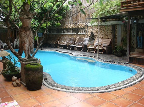Villa Cha-Cha: piscine