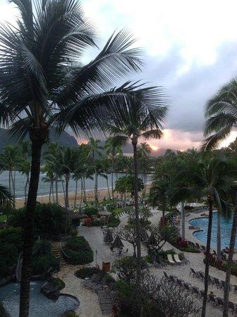 Kaua'i Marriott Resort: Sunset view