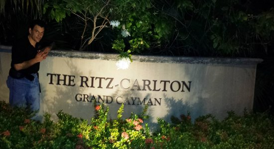 The Ritz-Carlton, Grand Cayman: Mama, ya llegamos!!