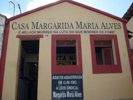 """museu """"Casa Margarida Maria Alves"""" (divulgação oficial Prefeitura de Alagoa Grande/PB)"""