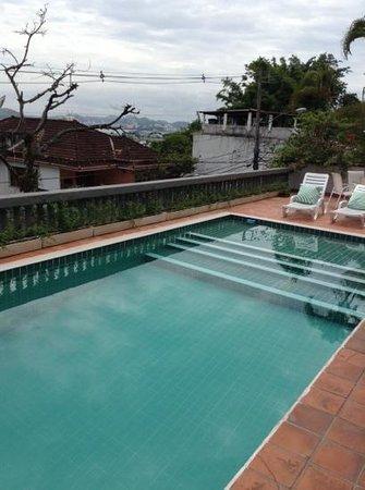 Santa Tere Hostel: pool area
