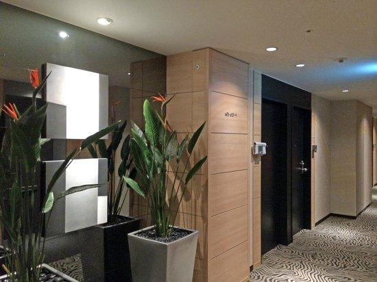 Hotel Trusty Osaka Abeno: 6階フロアー
